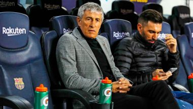 Quique Setien's Barcelona Record Third-Highest Pass Rate Since Pep Guardiola Era; Check List of Top 5 Games in La Liga